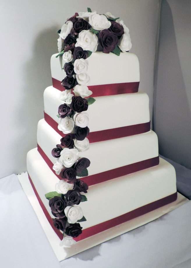 edited wedding cake
